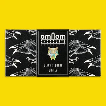 Black n' Burnt Barley Bar by Omnom