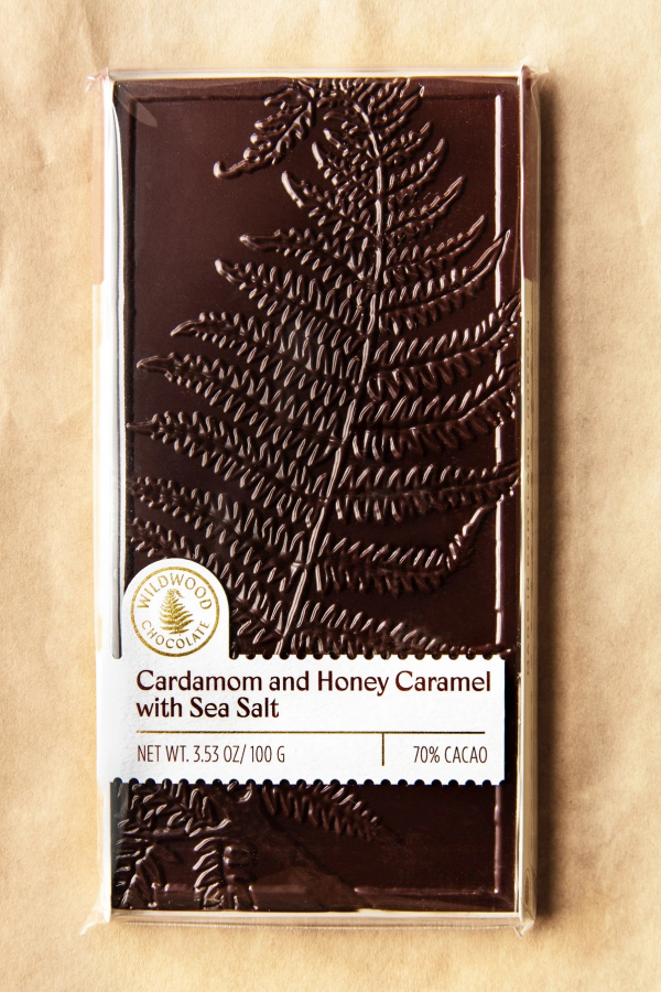 Cardamom Honey Caramel Bar