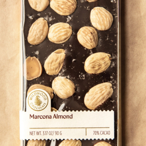 Marcona Almond Bar by Wildwood Chocolate