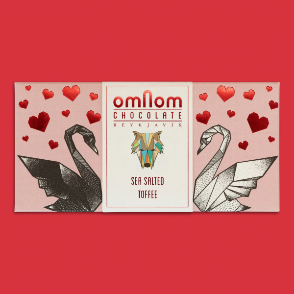 Sea Salt Toffee Bar by Omnom