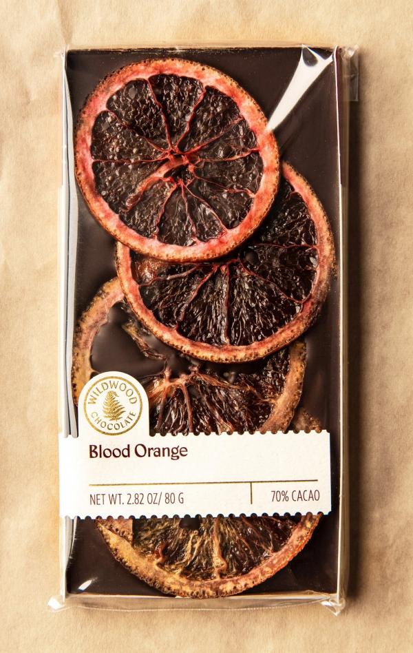 Blood Orange Bar by Wildwood Chocolates
