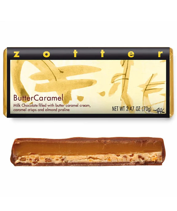 Butter Caramel Bar by Zotter