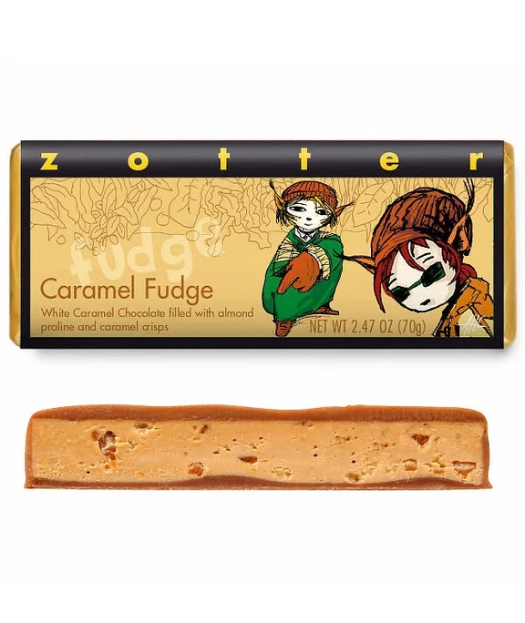 Caramel Fudge Bar by Zotter