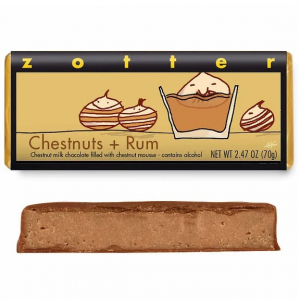 Chestnuts & Rum Bar by Zotter