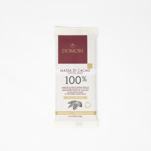 100% Chocolate Bar by Domori