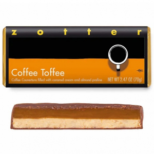 Coffee Toffee Bar by Zotter