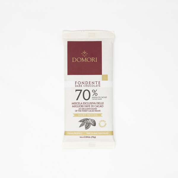 70% Dark Chocolate Bar by Domori