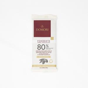 80% Dark Chocolate Bar by Domori