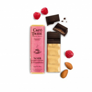 Noir Praline Amande & Framboise by Cafe-Tasse