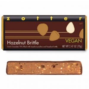 Hazelnut Brittle bar by Zotter
