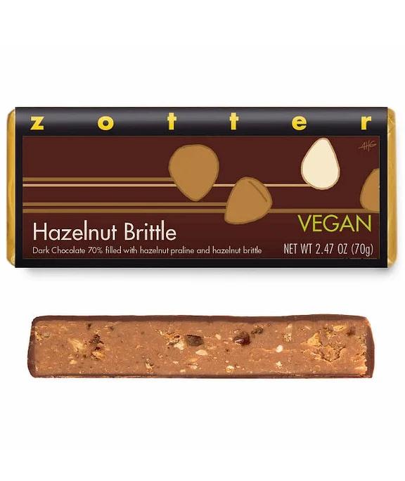 Hazelnut Brittle bar by Zotter