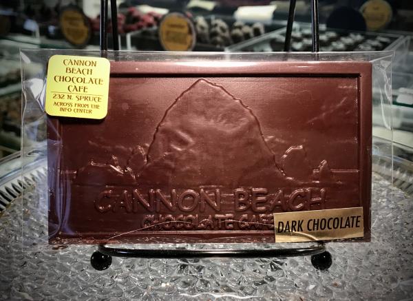 Dark Chocolate Haystack Rock Bar