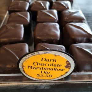 Dark Chocolate Marshmallow Dip