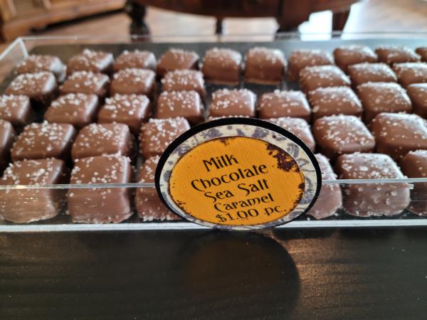 Milk Chocolate Sea Salt Caramel