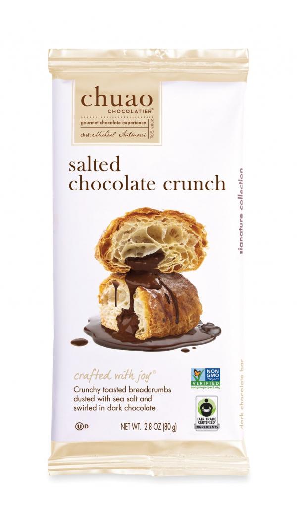 salted chocolate crunch by Chuao