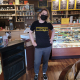 CB Chocolate Cafe t shirt Kelly